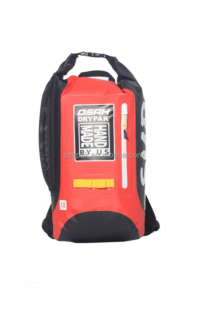 High quality waterproof backpack outdoor with carabiner loops