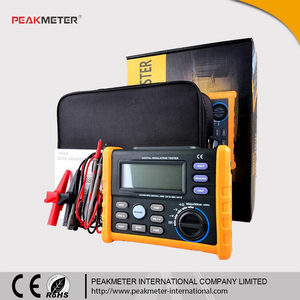 With Analog Bar Display Multimeter to 10G Ohm 1000V Digital Insulation Tester