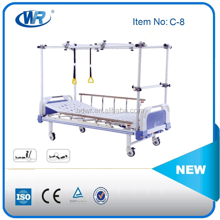 new type medical equipment/physiotherapy orthopedics traction hospital Bed,Hospital Orthopedic Beds