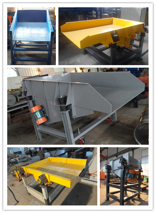 electric durable high-impact vibratory feeding machine ore feeder