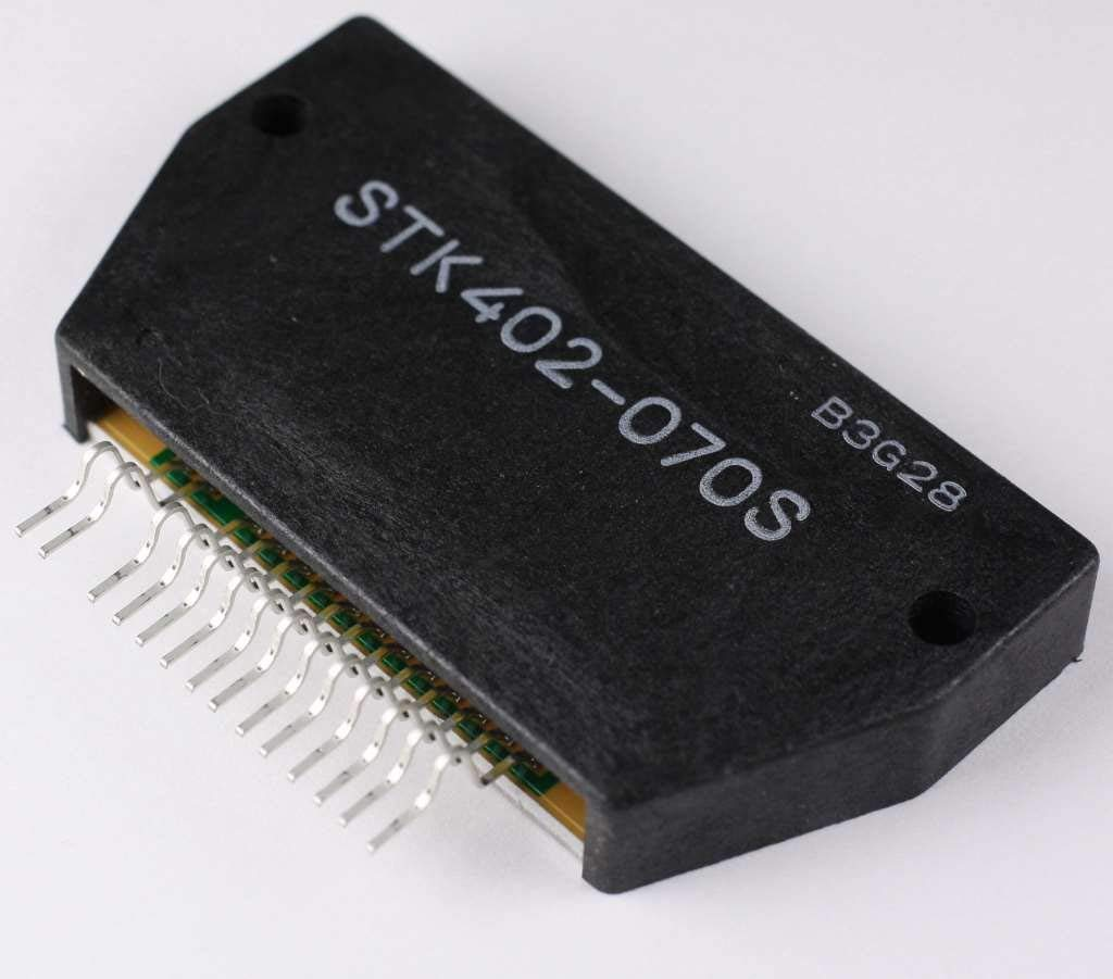 Cheap Ic For Audio Amplifier Find Deals On Tda2002 8w Car Radio Power Get Quotations Stk402 070s Sanyo