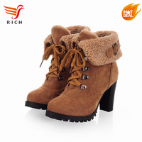larger size keep warm snow boots women shoes winter