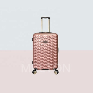 hot news weave pattern Shining pearl Any color light strong fashion luggage