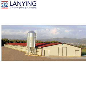 Prefabricated Broiler Poultry Farm House Design