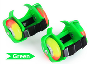 street glider flashing roller skates shoes with two roller wheels roller skate without shoes
