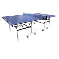 Full Set moveable wheels Ping Pong Table Folding Table Tennis Table for Indoor Sport