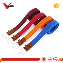 Men Stretch elastic braided belts