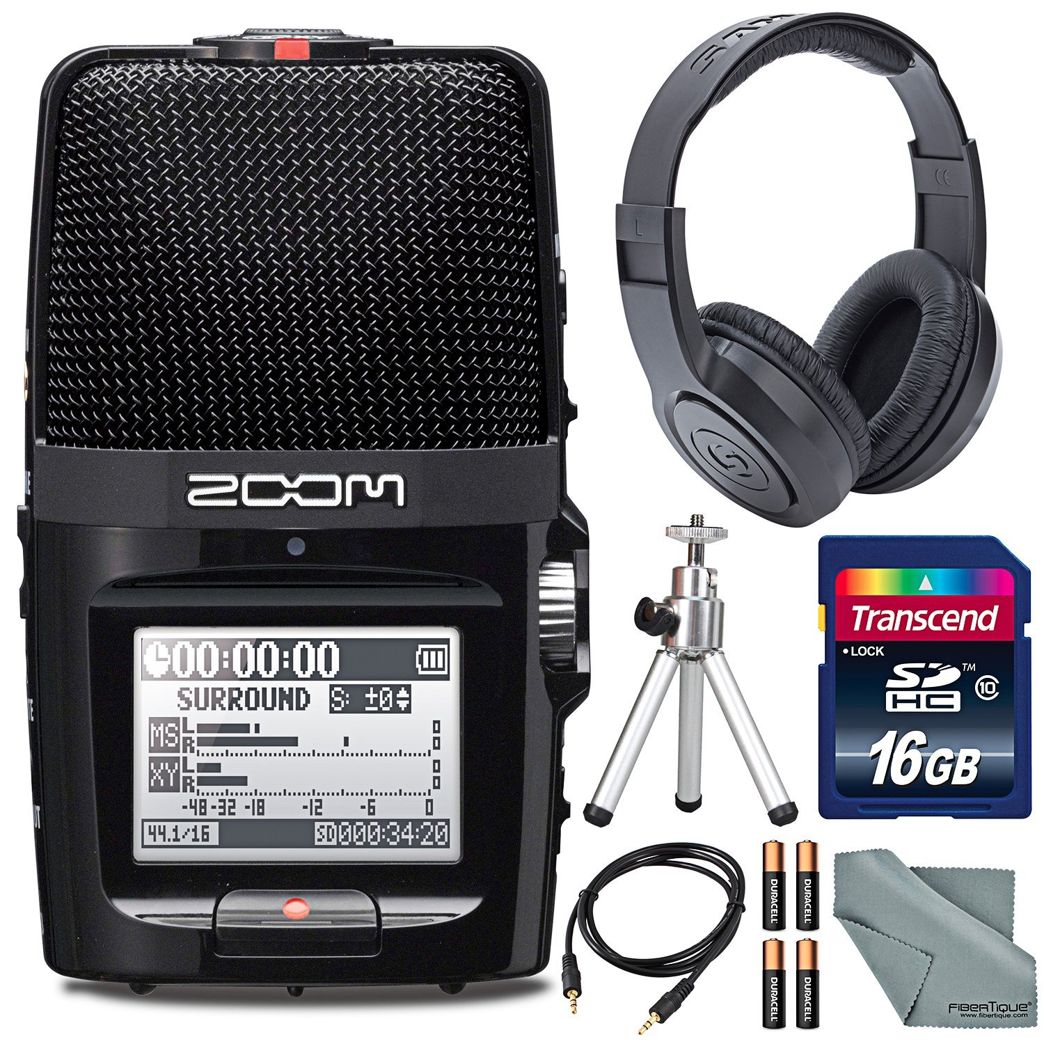 Cheap Zoom Recorder Manual Find Deals On Line Aph 1 Accessory Package For H1 Get Quotations H2n Handy Digital Along With Samson Studio Headphones And Deluxe Bundle