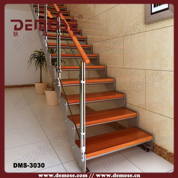 Interior Design Stairs/stair Metal Used/iron Straight