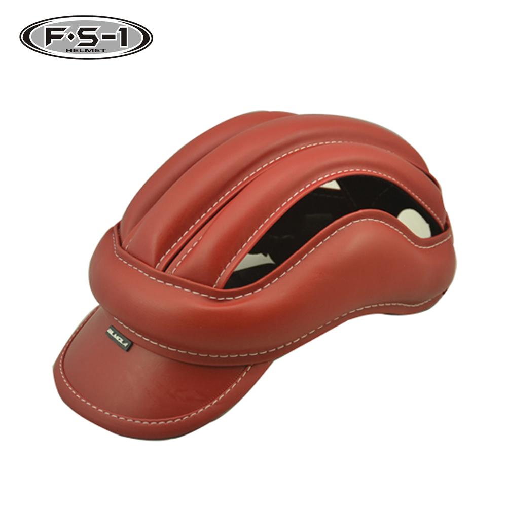 Comprar China personalizado bicicleta capacete CPSC aprovado capacetes de bicicleta de estrada de couro online