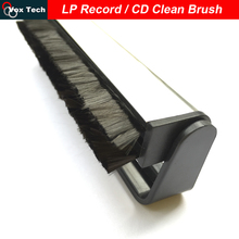 Anti Static Carbon Fiber LP Vinyl Record Clean Brush Cleaner, vinyl / CD / VCD / Record player, tocadiscos vinilo