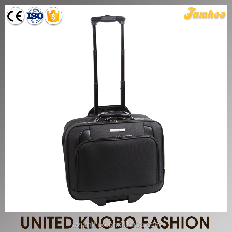1680D wheeled luggage travel business bag laptop case