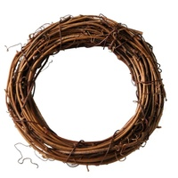 DIY Crafts Rattan Heart Natural Dried Wreath Grapevine Wreath Xmas Garland Home Wedding Party Decor