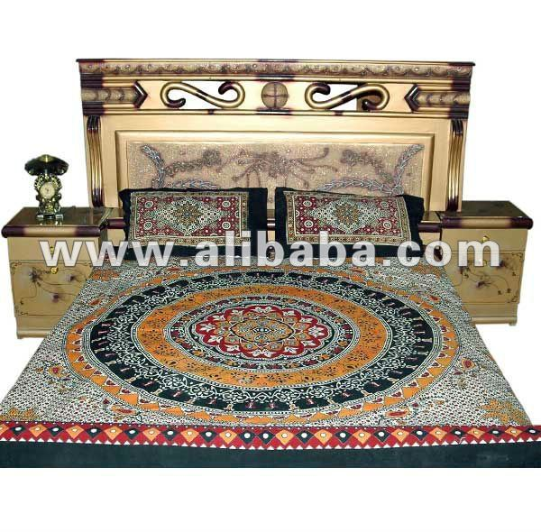 . Sindhi Bed Sheets Hand Printed Designed   Buy Bed Sheets Product on  Alibaba com