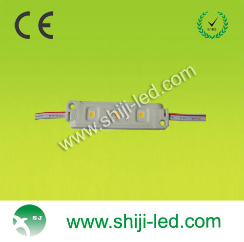 super high brighte CE ROHS good quality IP 65 warm white led module DC 12V