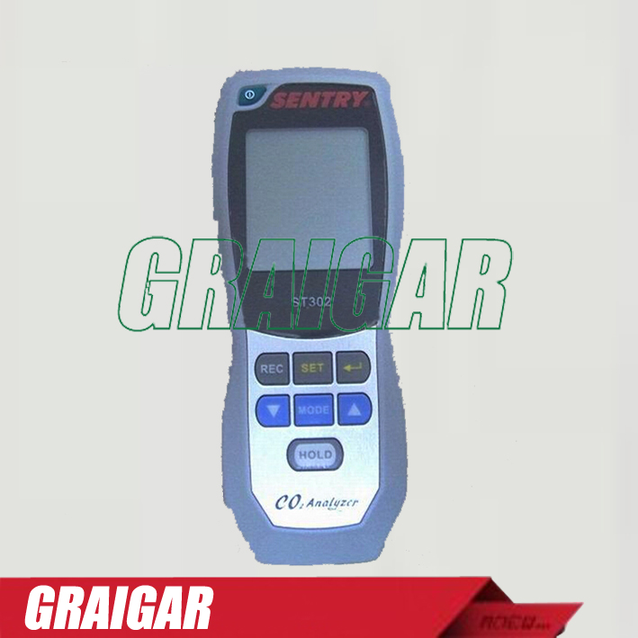 CO2 Analyzer SENTRY ST302 infrared non-distributed carbon dioxide concentration detector tester