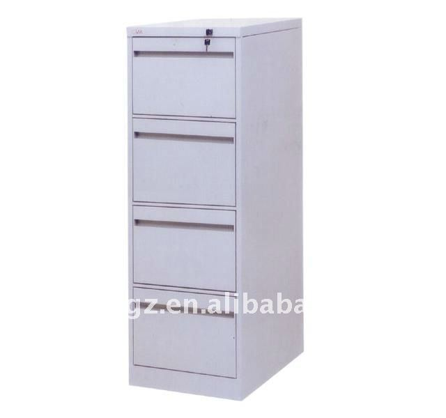 Vertical Four Drawers Steel File Cabinet with Drawers