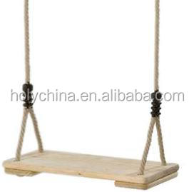 hot sale high quality wooden swing seat