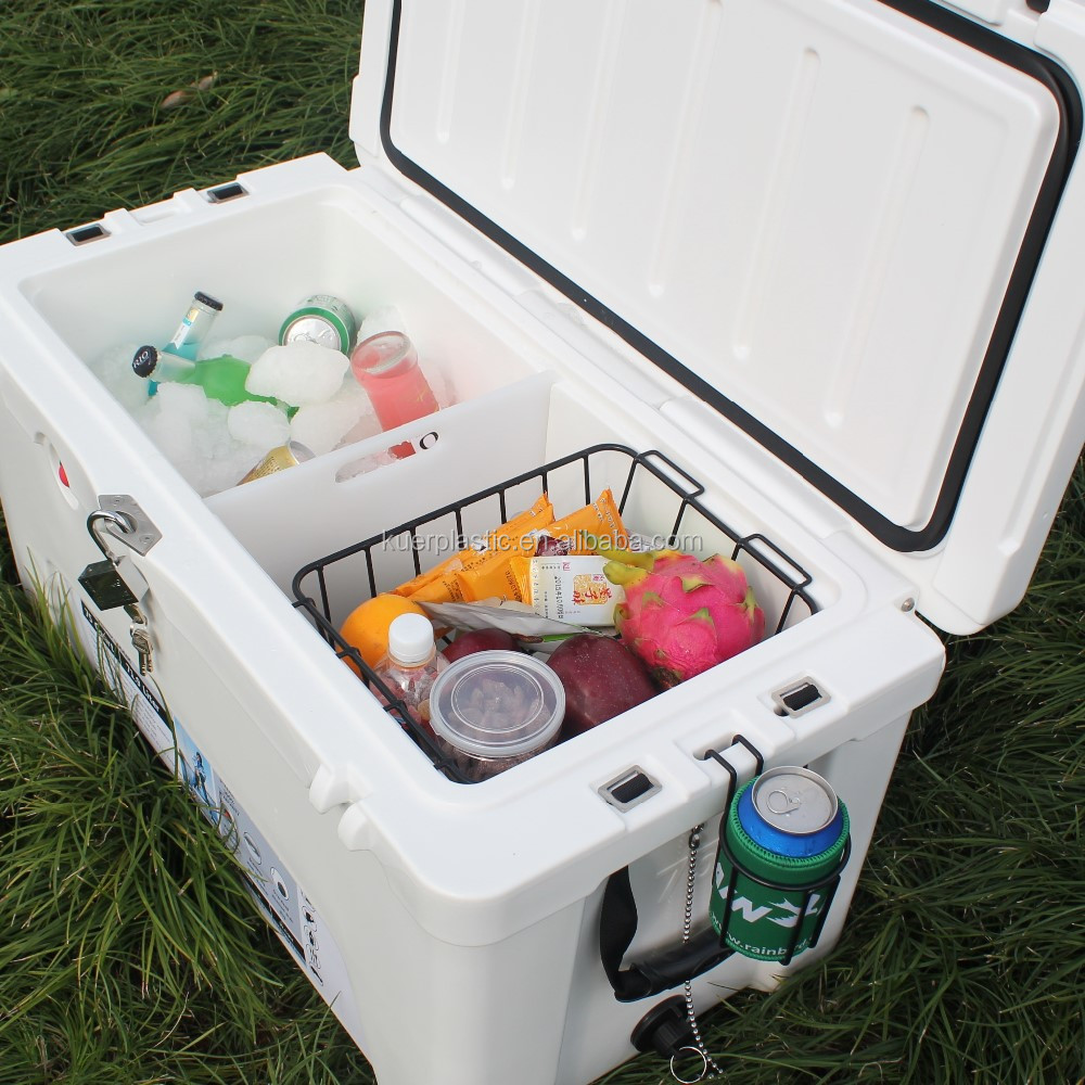 60qt wholesale rotomolded plastic ice cooler box