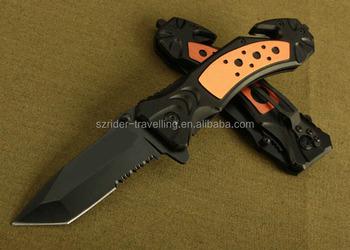 Oem Serrated Free Sample Folding Tactical Knife Pocket Knife By ...