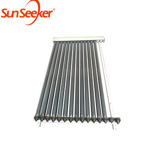 Top grade hot water evacuated tube air heat pipe solar collector