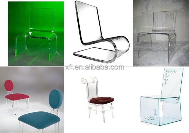 Professional Design High Transparent Clear Acrylic Desk Chair ...