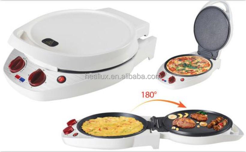 1800w Electric Multi-function Snack Maker Pizza Maker 6 In 1 Pm ...