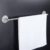 3M adhesive no screw 40 55 70 cm solid 304 stainless steel double towel bar towel holder hook