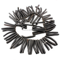 CB8054 Natural black coral branch beads,coral stick beads