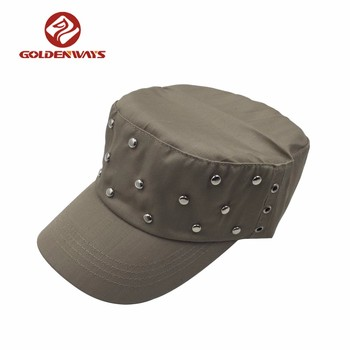 2018 Outdoor Sport Custom Plain Adjustable Military Hat Names Bands - Buy Military  Hat 3a2c3db1479