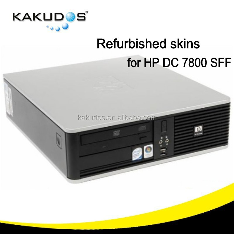 Used desktop computer skins for HP DC 7800 SFF, second hand refurbished desktop sticker