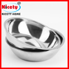 Stainless Steel Interactive Slow Down Eating Pet Feeder Dog Food Bowl