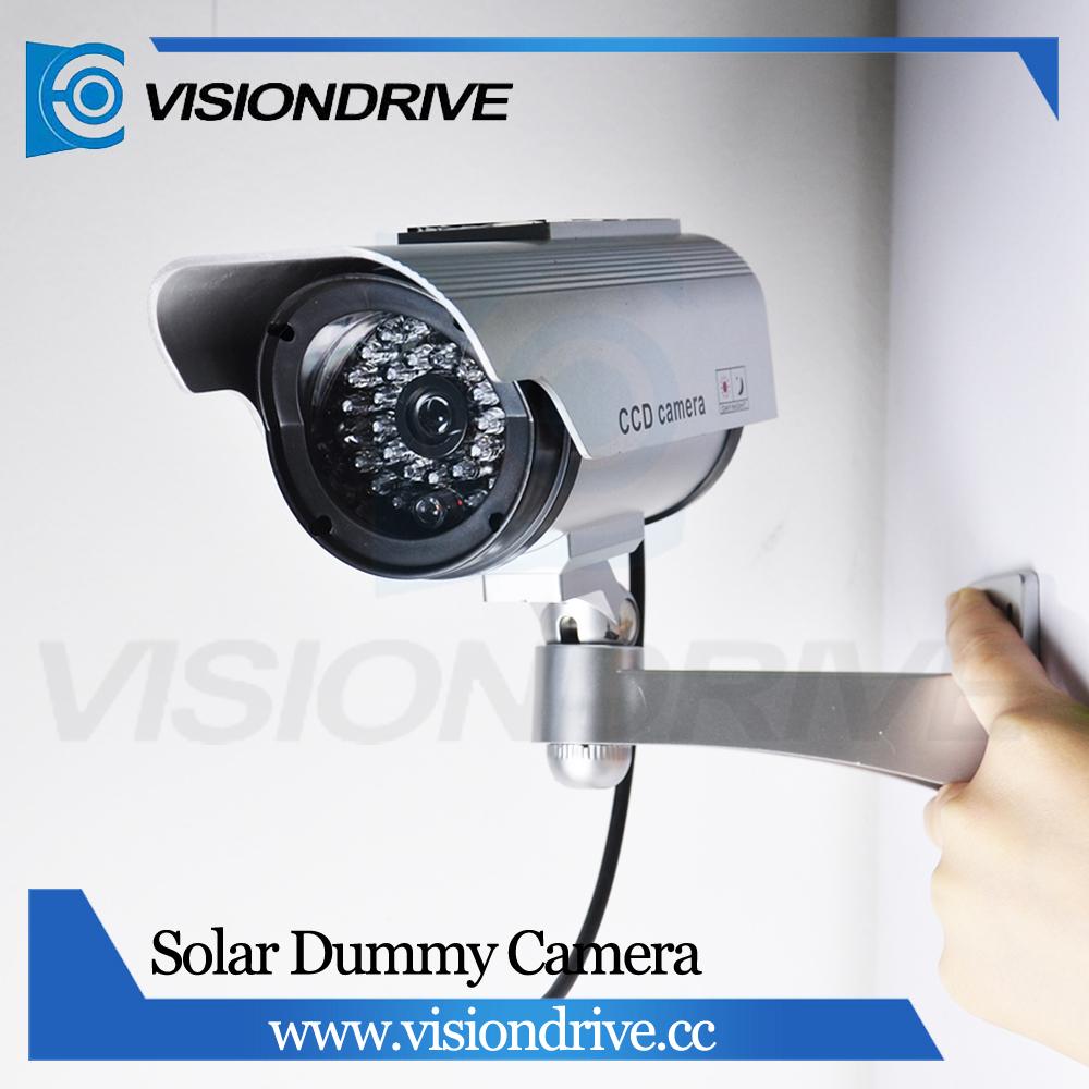 Ksad 2200 Figure Solar Power Dummy Fake Camera Cctv Security Kamera Ir Led Surveillance Outdoor Flash Buy Hidden Cameraswireless