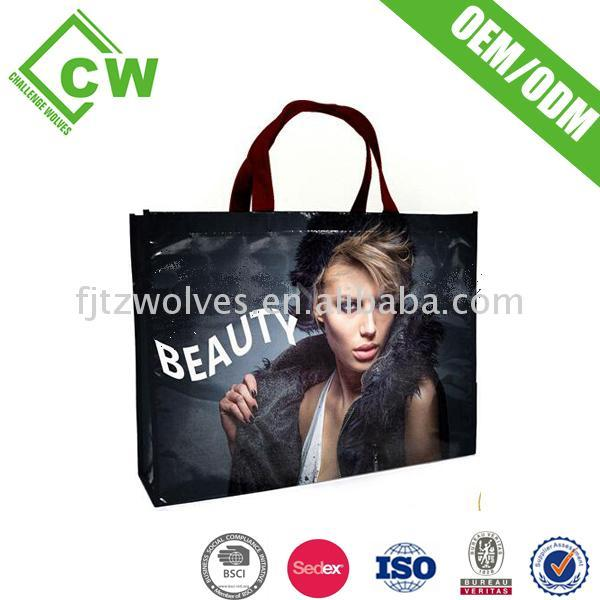 Best Selling Quality pvc shopping bag matt lamination a4 size paper folder