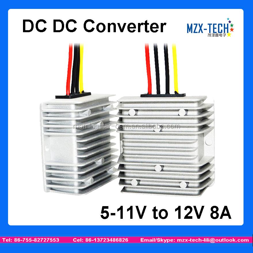 DC 5V 6V 7V 8V 9V 10V 11V Step Up To 12V 2A Car Power Boost Converter Regulator