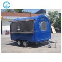 CE approved stall burger food cart trailer /coffee trucks for sale