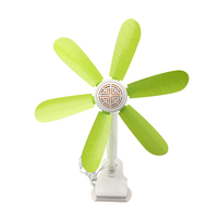 2016 new trendy china wholesale 6 bladed strong wind portable cooling clip ac fan