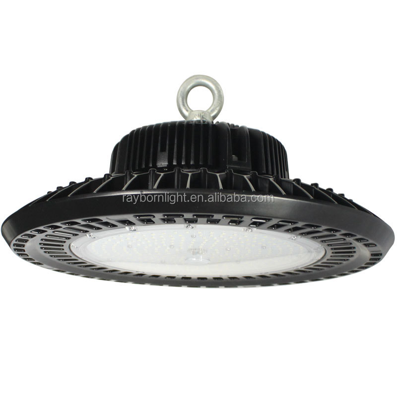 UFO LED High Bay 140-170lm/W Lampu Industri IP65 150 Watt LED HiBay 100W 150 W 200W Cahaya Tinggi