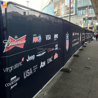 Banners Fence Mesh, Wide Format Outdoor Mesh Vinyl Printing