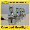 High Quality Low Price 60w h16 3600lm cree cxa1512 car led headlight with external led driver large stock made in China