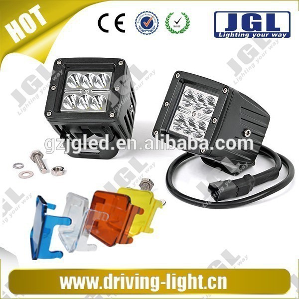 12w led work light 12V led driving lights for truck, LED Car Bulb Offroad 4WD 4x4 LED headlight