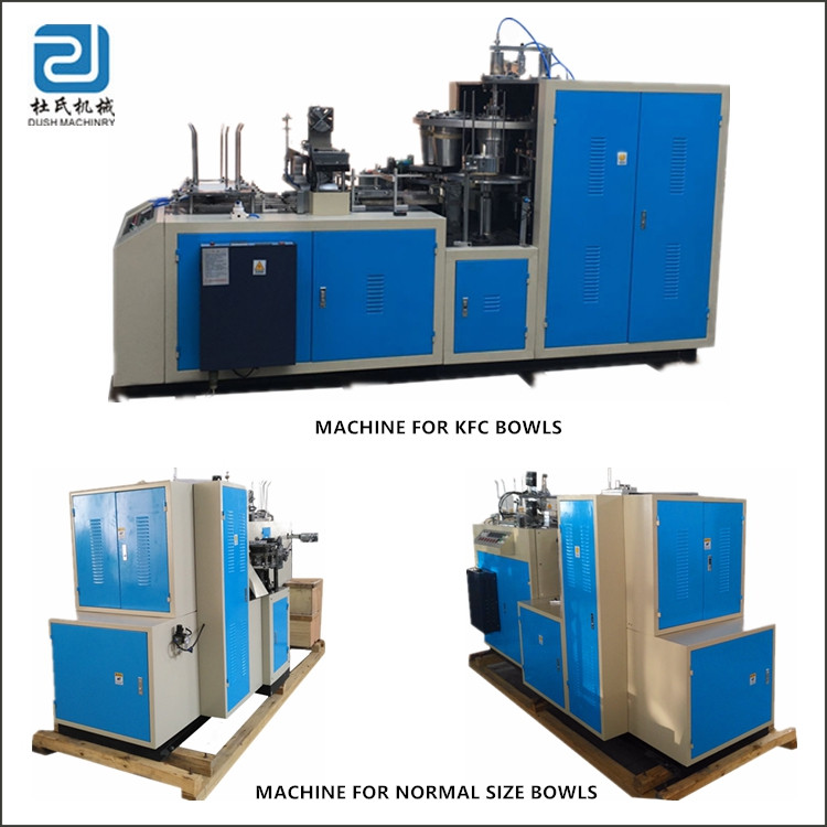Full Automatic Paper Bowl Making Machine