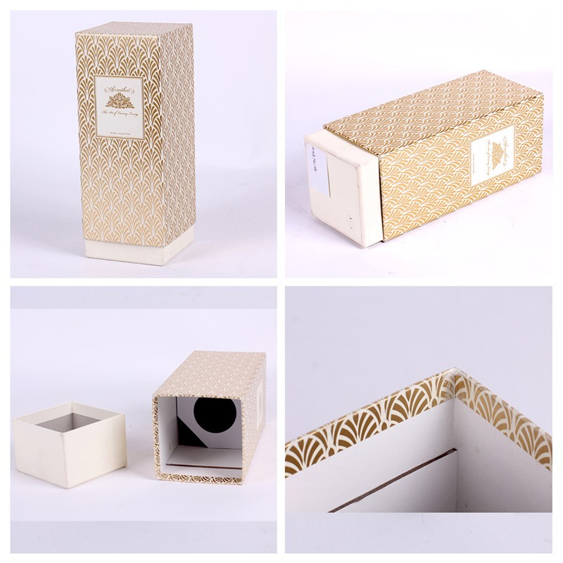 Luxury design skin care paper box packaging