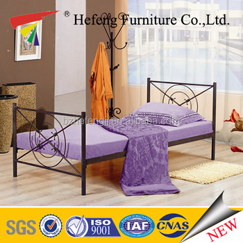china new products narrow single metal beds buy metal. Black Bedroom Furniture Sets. Home Design Ideas