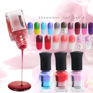 Wholesale Brands Women Cheap UV Glaze Nail Polish Temperature Change Gel Nail Polish China Factory Manufacture