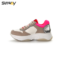 SUNWAY Quality Chinese Products Comfortable TPR Outsole Women Sneaker Sports Shoe