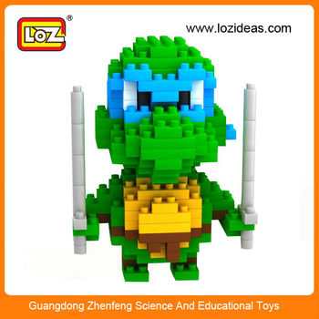 Pour De Tortues Jouet Construction En Cadeau blocs Mini Construction Ninja Loz Buy Plastique Blocs xrCedBo