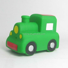 Hot seller squirt funny plastic baby toys train