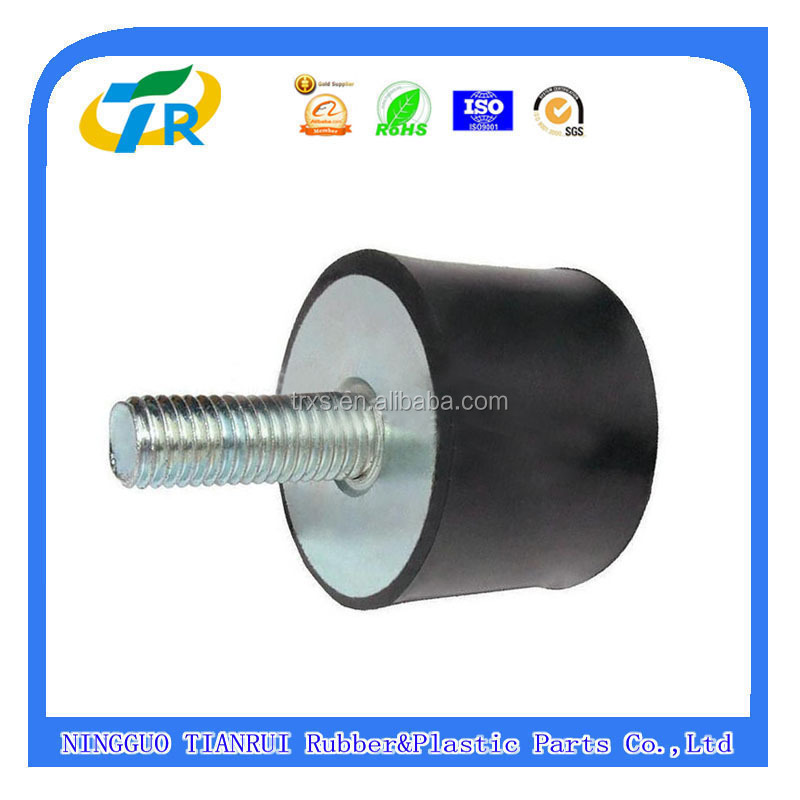 Chinese Metal + Rubber Shock Mounts For Machinery / Rubber Vibration Dampers