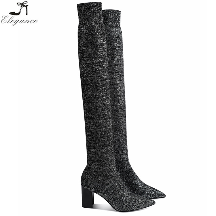 be97d4787bf Thigh High Boots Uk